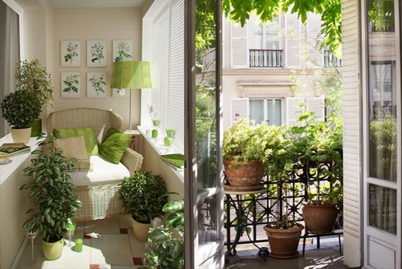 Yeşil balkon