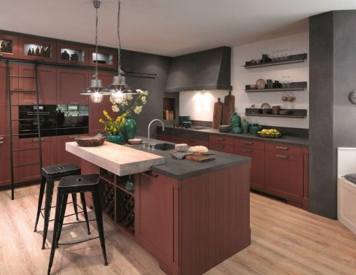 Amerikam Mutfak İçin Mutfak Dolap modelleri
