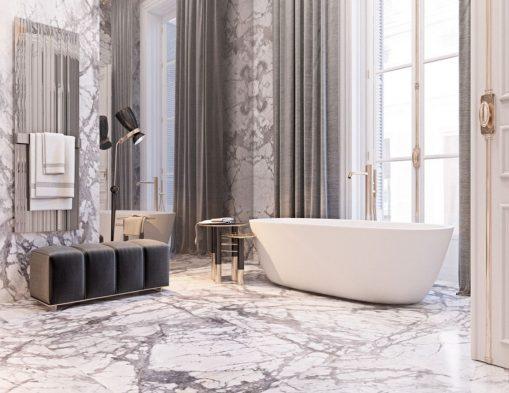 Lüks banyo tasarım fikirleri