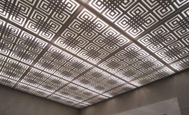 Labirent Tavan Paneli Dekoratif