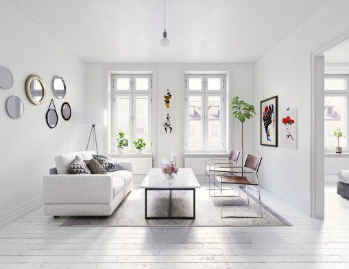 Minimal yaşam alanı için tasarım fikirleri